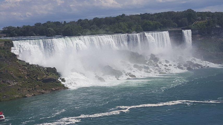 View from Sheraton Hotel, Niagra Falls, Canada#VacationLife via @Vistana