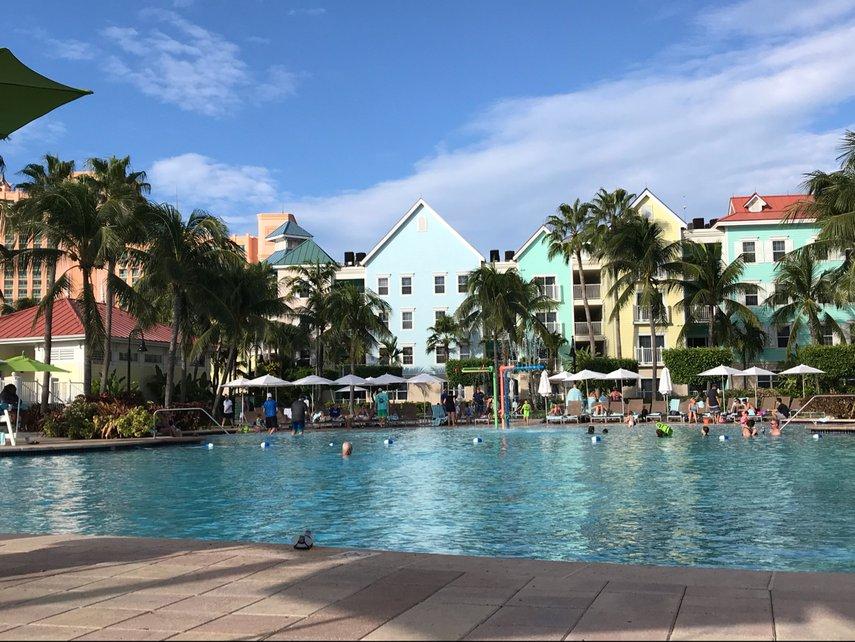 Harbor side pool! #VacationLife via @Vistana