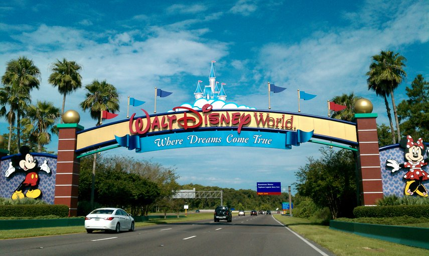 Entrance to Disney World#VacationLife via @Vistana
