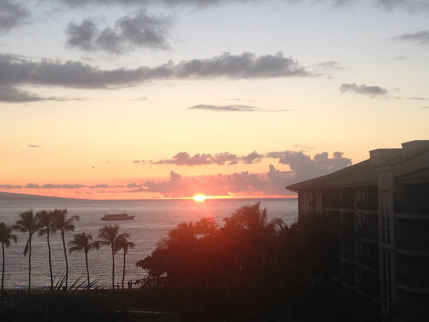 What an awesome sunset - every night! #VacationLife via @Vistana