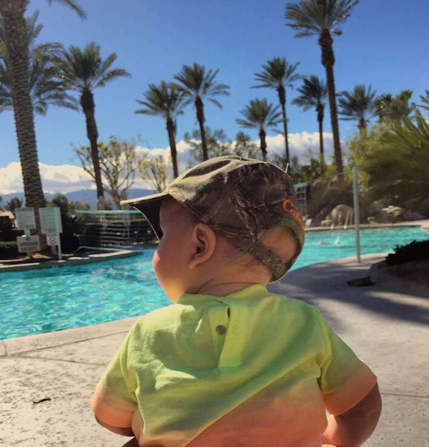 Our first family vacation #VacationLife via @Vistana
