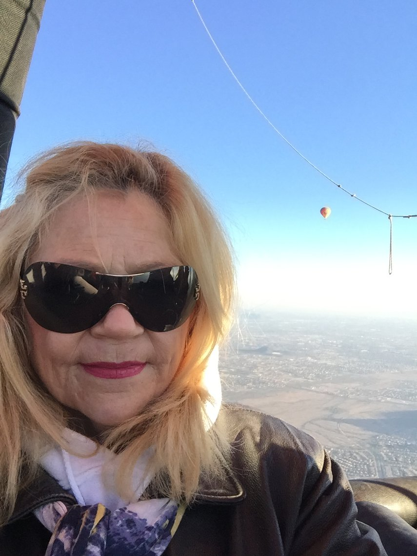 Hot air ballooning, one of the great activities enjoyed during stay at Sheraton Desert Oasis, Scottsdale, AZ. Uplifting!#VacationLife via @Vistana