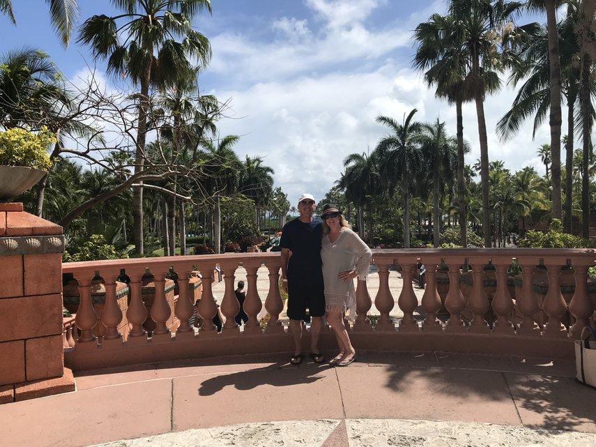 Happy couple#VacationLife via @Vistana