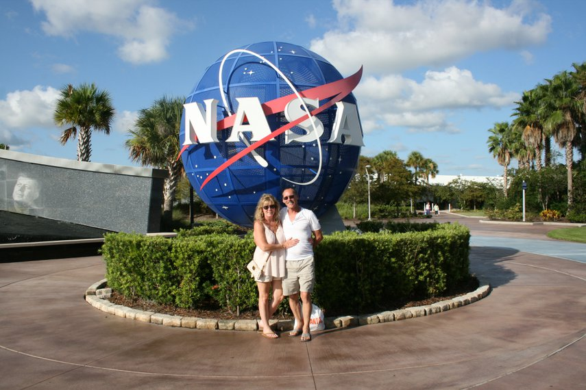 NASA Entrance#VacationLife via @Vistana