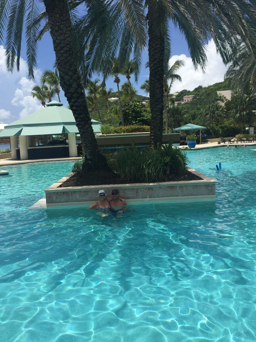 Pool at the Westin St. John#VacationLife via @Vistana
