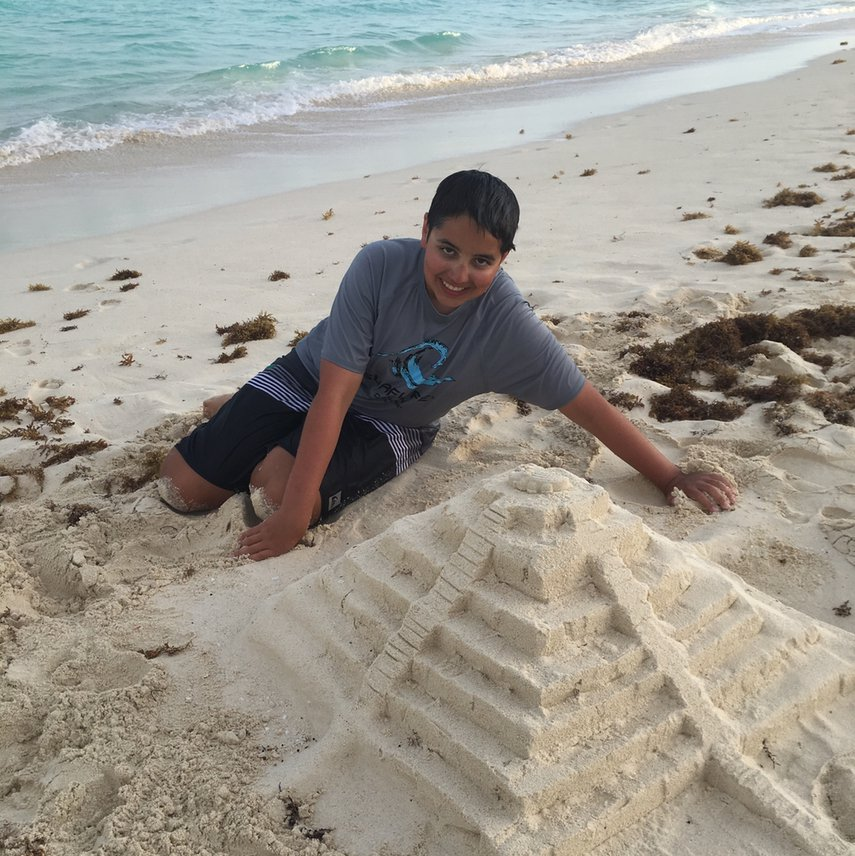 Fun day building sand castles #VacationLife via @Vistana