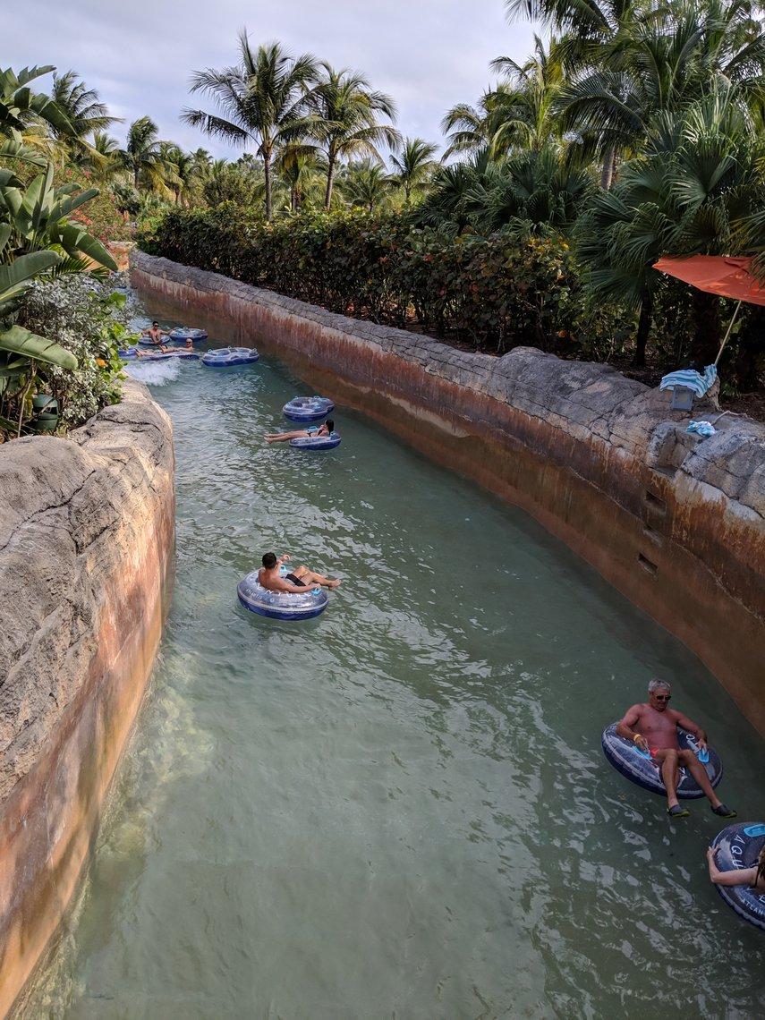 Rapid Lazy river, Feb 2019#VacationLife via @Vistana