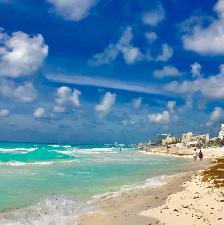 Our morning walk on the beach#VacationLife via @Vistana
