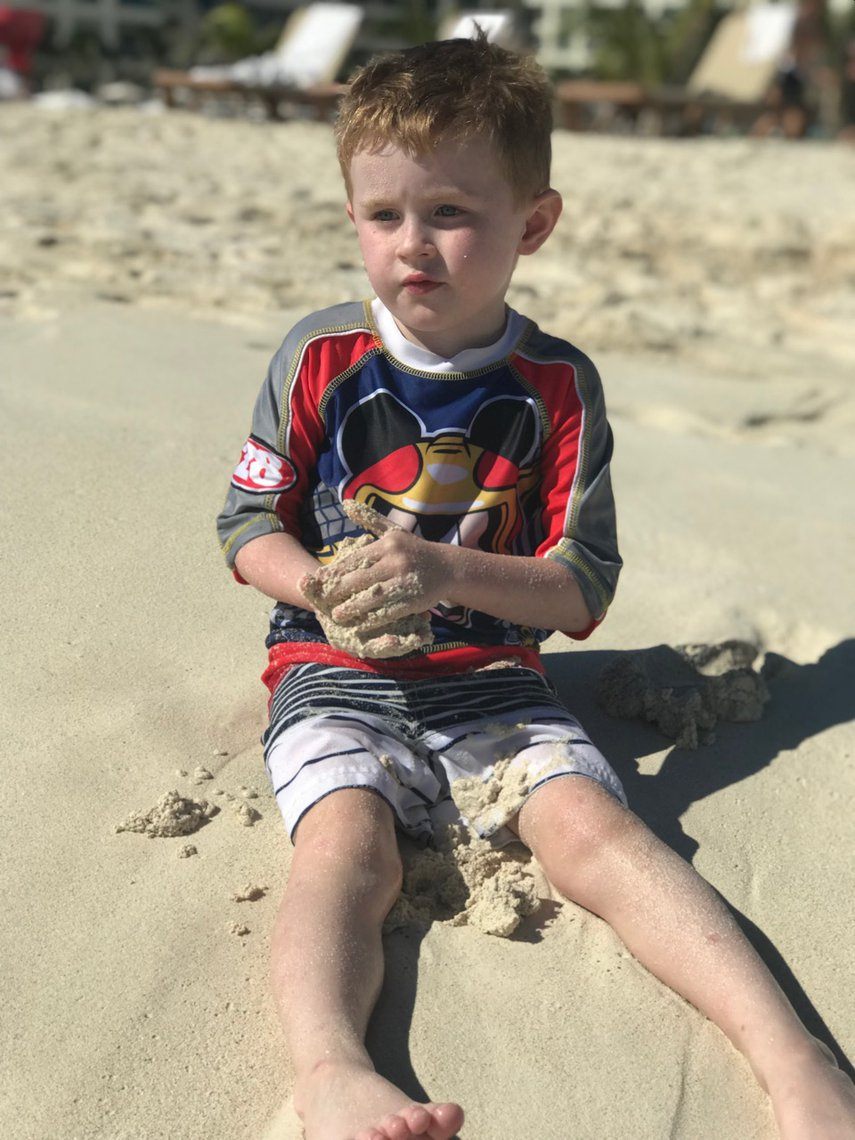 Owen at the beach#VacationLife via @Vistana