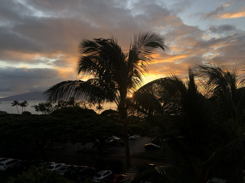 Hawaiian Sunset#VacationLife via @Vistana