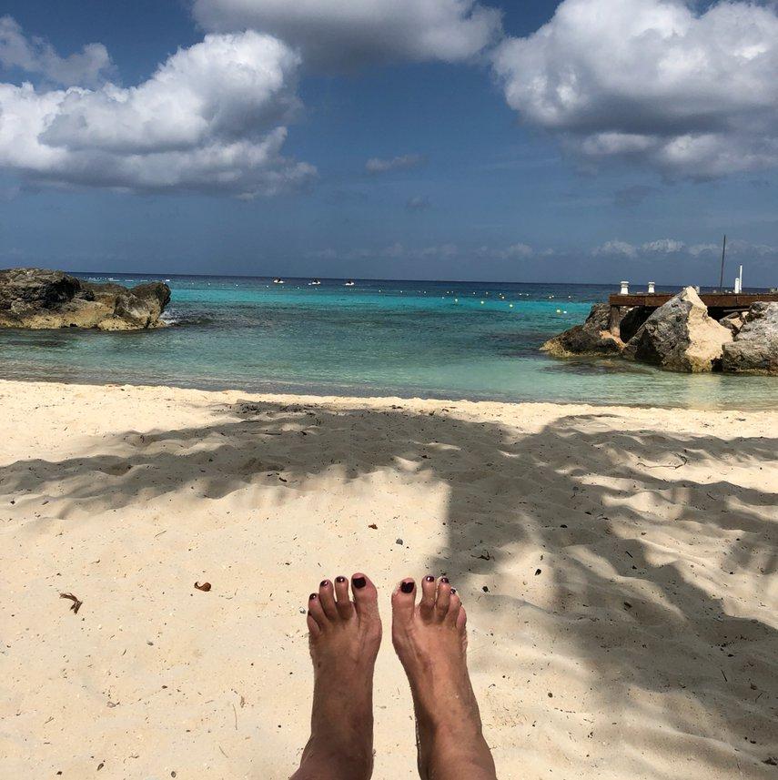 Best swim, snorkel and beach LOVE Cozumel #VacationLife via @Vistana