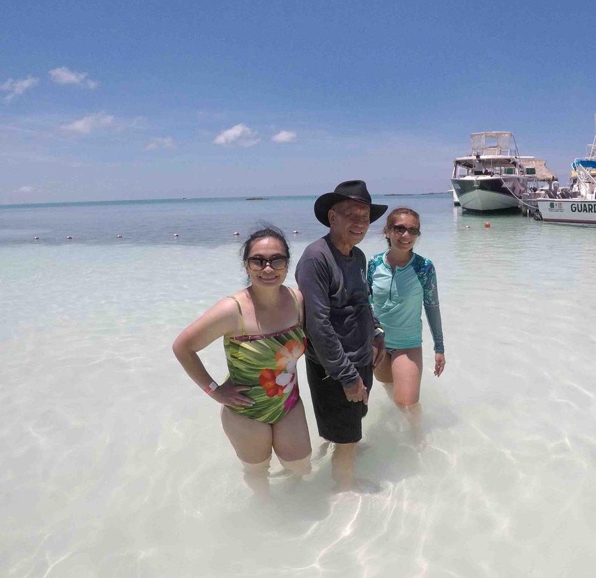 Setting foot in the Carribean Sea!#VacationLife via @Vistana