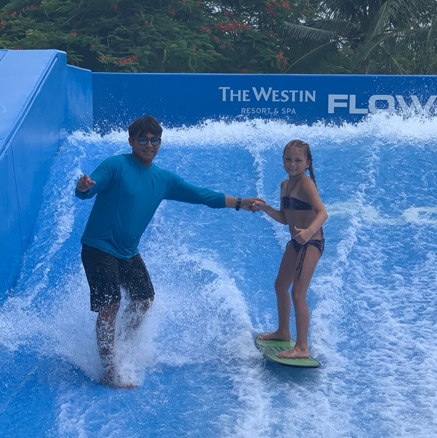 Flow Rider fun with Luis!#VacationLife via @Vistana