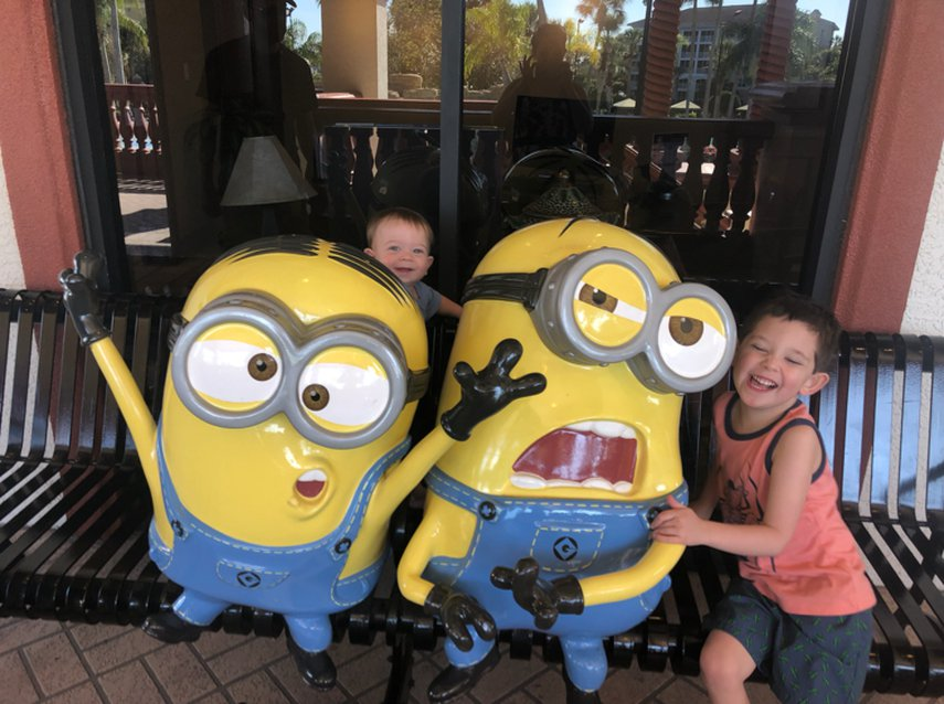 Fun with minions #VacationLife via @Vistana