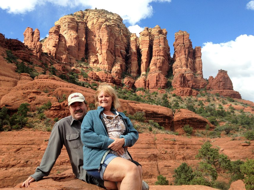 Relaxing on the Red Rocks in Arizona#VacationLife via @Vistana