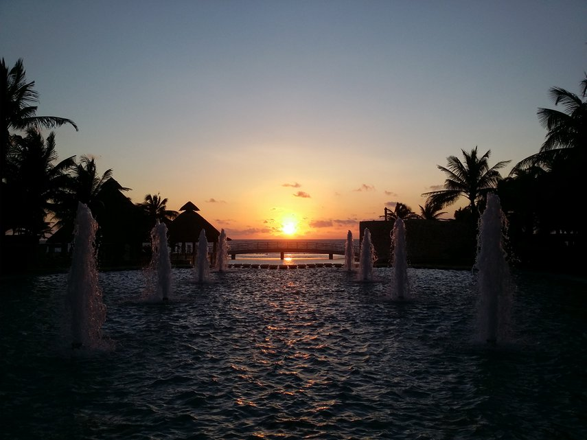 Sunset at Westin Lagunamar Resort#VacationLife via @Vistana