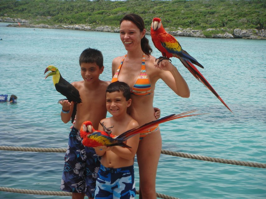 2012 Family vacation in Cancun @ Westin Laguna Mar#VacationLife via @Vistana