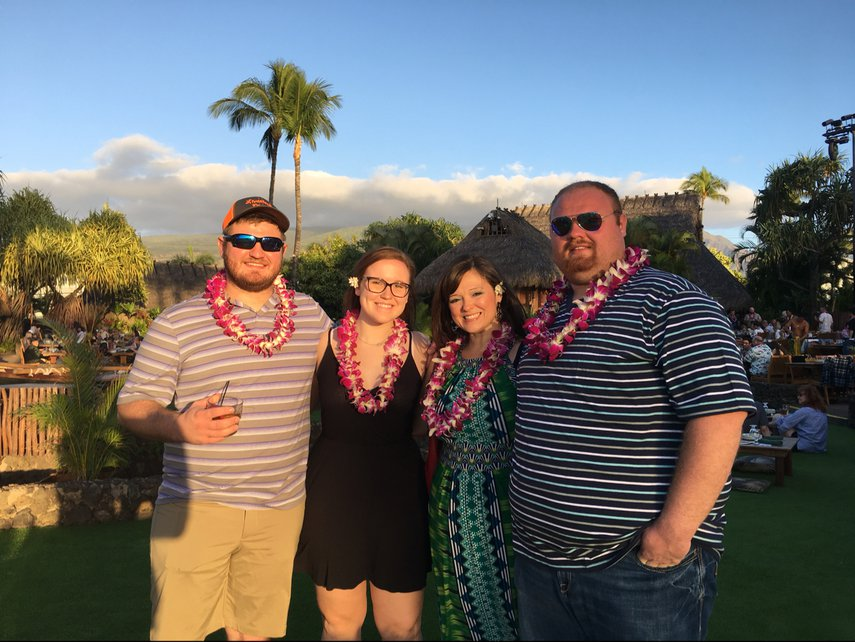 My favorite luau and so thrilled my three children got to experience it! Aloha!#VacationLife via @Vistana