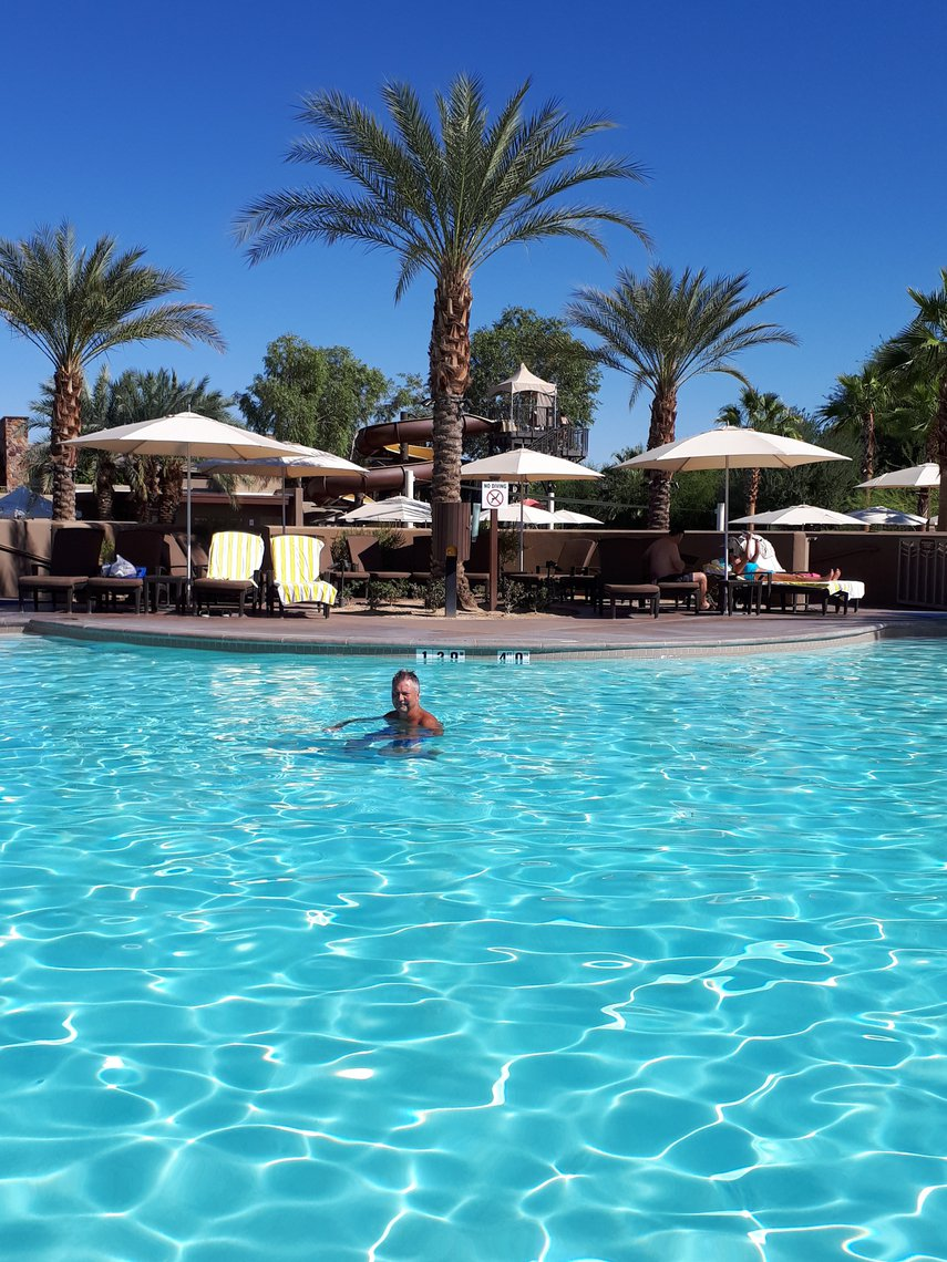 beautiful pools grace this Palm Desert property #VacationLife via @Vistana