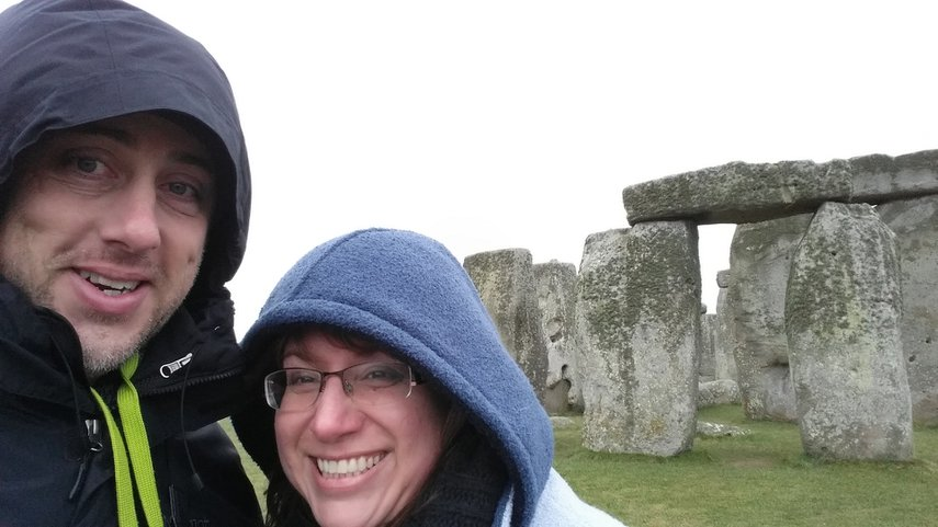 Stonehenge is beautiful and cold! Have a much better appreciation for a good wool sweater. #VacationLife via @Vistana