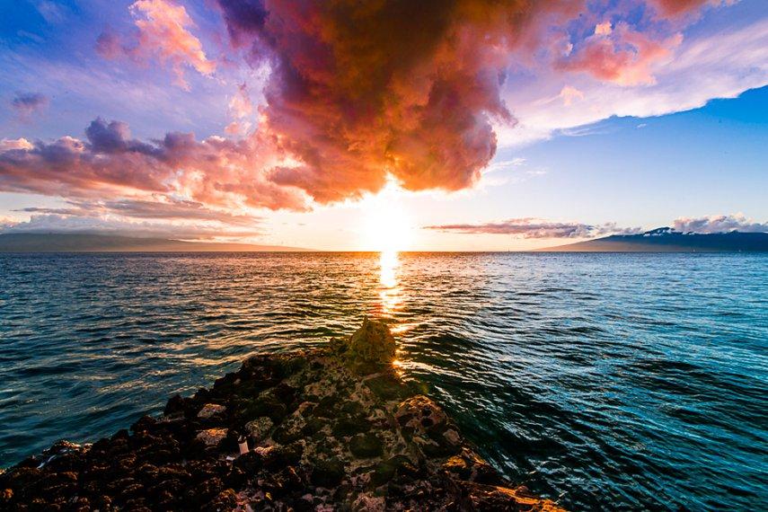 Sunset #VacationLife via @Vistana