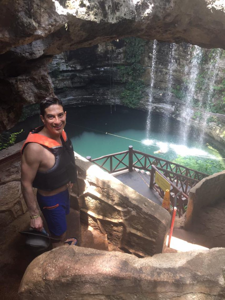 Cenote de hacienda Selva Maya#VacationLife via @Vistana