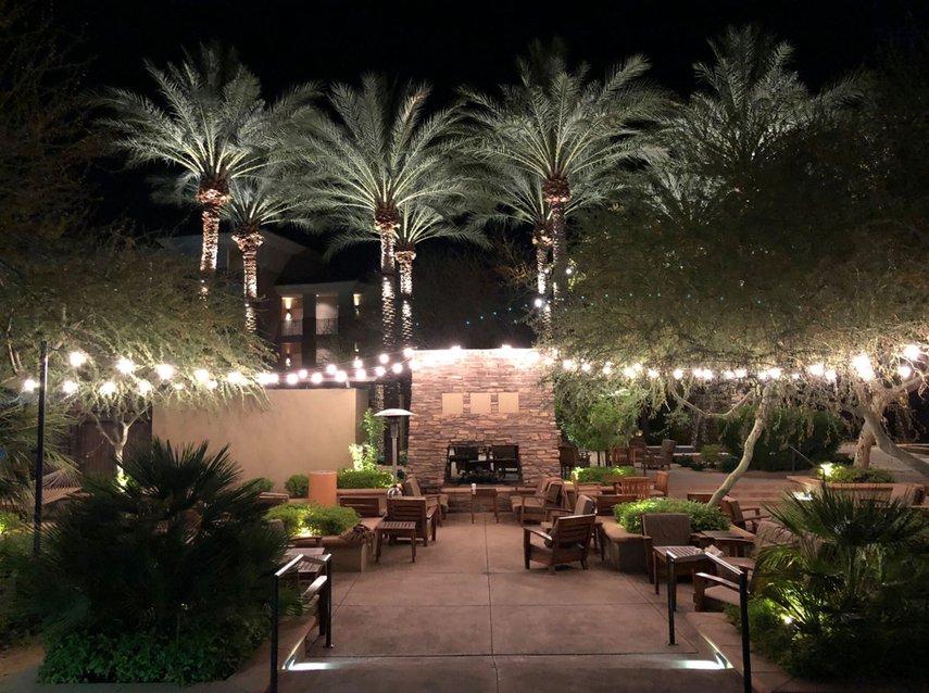 Beautiful view under the lights!#VacationLife via @Vistana