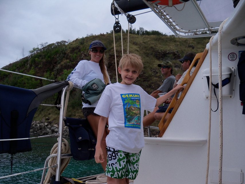 Our son on the Gemini snorkel cruise 2011#VacationLife via @Vistana