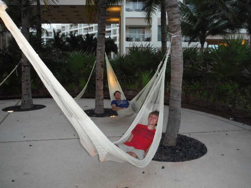 Relaxing in hammocks in Cancun#VacationLife via @Vistana