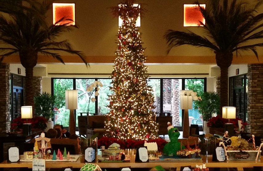 Kierlands Lobby Christmas Tree#VacationLife via @Vistana