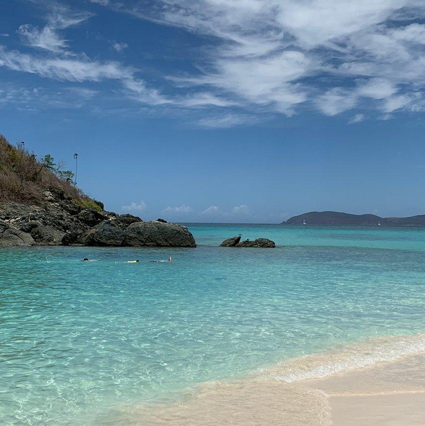 Trunk Bay Beach Day#VacationLife via @Vistana