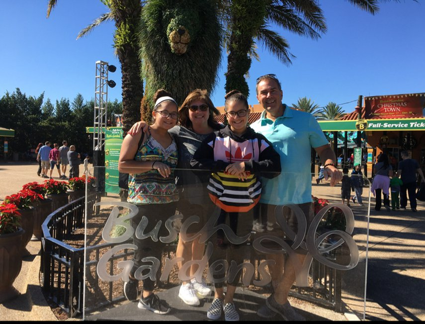 My family and I enjoying the amusement parks in FL #VacationLife via @Vistana